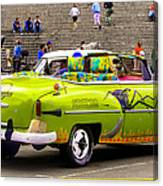 Fast And Furious In Cuba Canvas Print