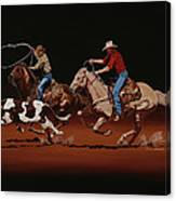 Fast Horses And Sure Ropes Canvas Print