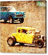Fastest Car In The Valley Canvas Print