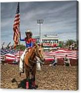 Fastest Rodeo On Earth Canvas Print