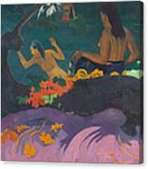 Fatata Te Miti  Canvas Print