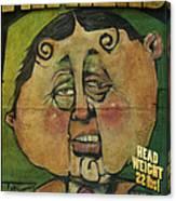 Fathead Poster Canvas Print