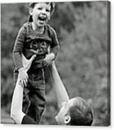 Father And Son IIi Canvas Print