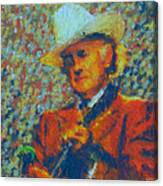 Father Of Blue Grass Canvas Print