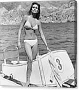 Fathom, Raquel Welch, 1967, �20th Canvas Print