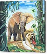 Faune D'afrique Centrale 01 Canvas Print