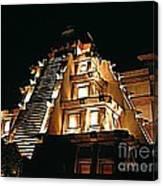 Faux Myan Pyramid Canvas Print