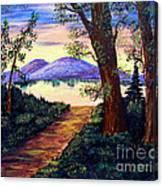 Favorite Fishing Spot Canvas Print