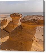 Fayum Desert Scene Canvas Print