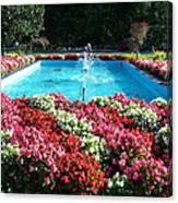 Fbi Academy Fountain Canvas Print