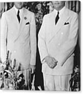 Fbi Director J. Edgar Hoovers 20th Canvas Print