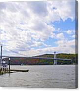 Fdr Mid Hudson Bridge - Poughkeepsie Ny Canvas Print