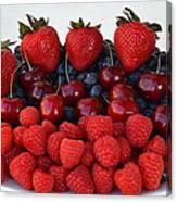 Feast Of Fruit Canvas Print