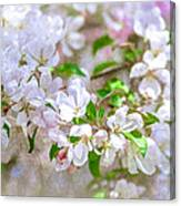 Feast Of Life 23 - Spring Wreath Canvas Print