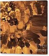 Feather Flower 2 Canvas Print