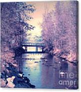 February Yearning Canvas Print