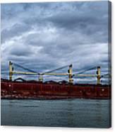 Federal Elbe Canvas Print