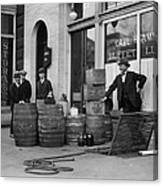 Federal Prohibition Agents 1923 Canvas Print
