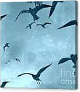 Feeding Frenzy Canvas Print
