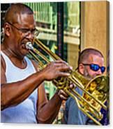 Feel It - New Orleans Jazz  Canvas Print