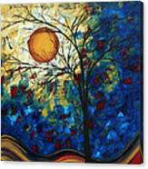 Feel The Sensation By Madart Canvas Print