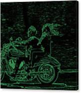 Feeling The Ride Canvas Print
