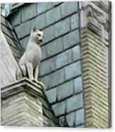 Feline Sentry Canvas Print