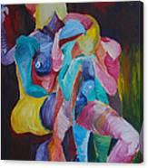 Female Art Canvas Print