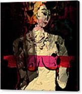Female Impression Canvas Print