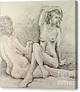 Female Nudes Canvas Print