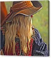 Female Pirate Canvas Print