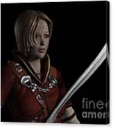 Female Ranger Portrait Canvas Print