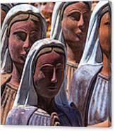 Female Statues Canvas Print