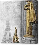 femmes de Paris Canvas Print