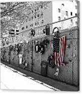 Fence At The Oklahoma City Bombing Memorial Canvas Print