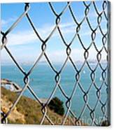 Fenced In Beauty Canvas Print