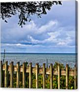 Fenced View Canvas Print