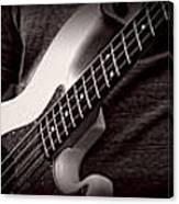 Fender Bass Canvas Print