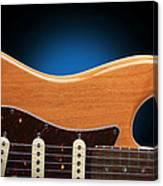 Fender Stratocaster Curves Canvas Print