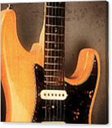Fender Stratocaster Electric Guitar Canvas Print