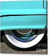 Fender What - 1955 Ford Canvas Print