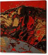 Feng Shui - Gold Mountain Canvas Print