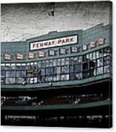Fenway Memories - 1 Canvas Print