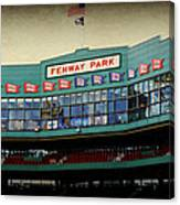 Fenway Memories - 2 Canvas Print