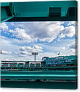 Fenway Park From The Green Monster Canvas Print