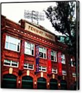 Fenway Park In October 2013 Canvas Print