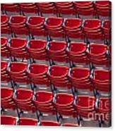 Fenway Seats Canvas Print