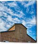 Fenwick Barn  7p01967 Canvas Print