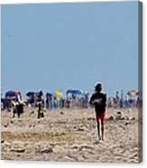 Beach Scene - Fenwick Island Delaware Canvas Print