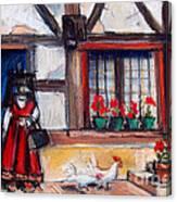 Ferme Bressane Canvas Print